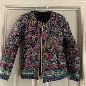 Lilly Pulitzer puffer jacket